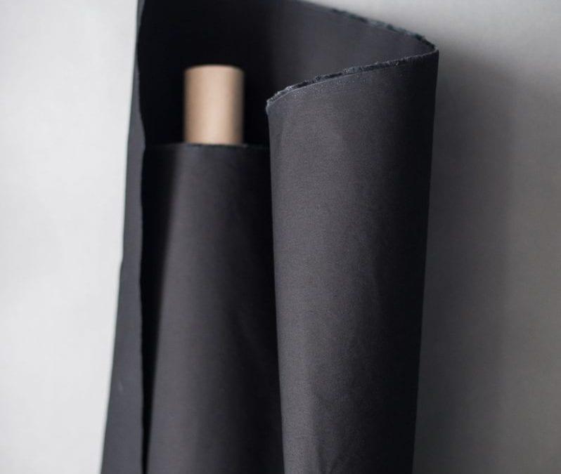 Dry Oilskin in Black by Merchant & Mills